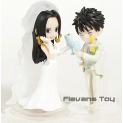 Figurine Mariage Luffy et Boa hancock