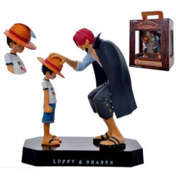 Figurine Luffy et Shanks