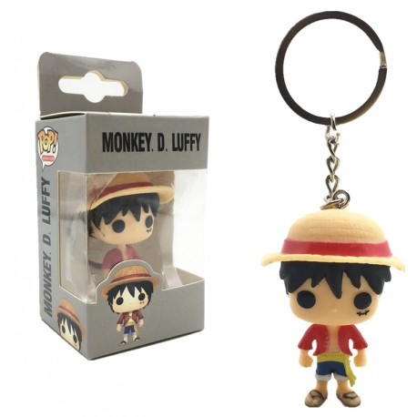 Porte clé pop luffy