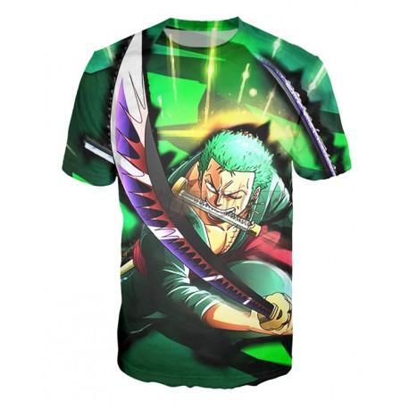 T Shirt One Piece Zoro