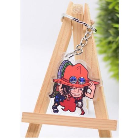 Porte Clé One Piece Ace