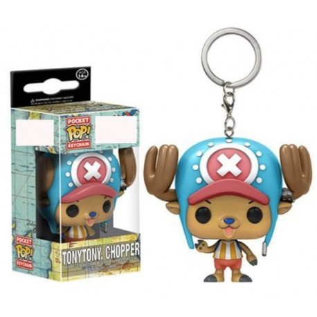 Porte clé pop One piece Chopper