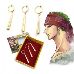 Boucle d'oreille Zoro One Piece