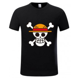 T Shirt One Piece Tête de mort