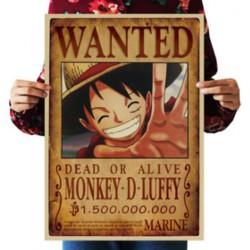 Avis de Recherche Luffy