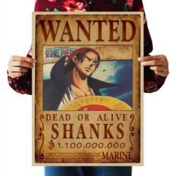 Avis de recherche Shanks le Roux
